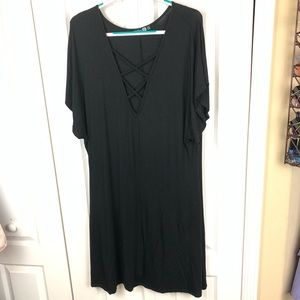 Boo Hoo Strappy Front Dress